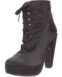 Robert Clergerie Satin Platform Ankle Boots websites cheap price clearance pictures sale low shipping gtuQYzjU