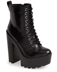 Steve Madden Globaal Leather Platform Boot