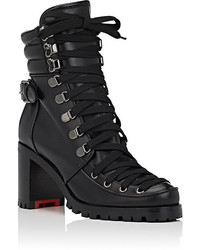 Christian Louboutin Who Runs Leather Ankle Boots