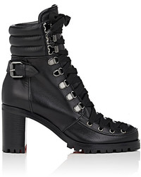 Who runs leather ankle boots medium 1316654