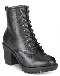 Ziginy Kourtlan Lace Up Booties