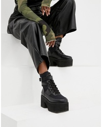 ASOS DESIGN Arlie Chunky Lace Up Boots
