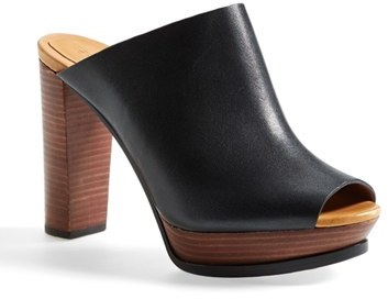 outlet locations for sale See by Chloé Leather Platform Mules buy cheap how much professional online sale store clearance browse c6yU8U