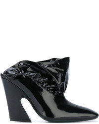 Mulberry Chunky Heel Mules