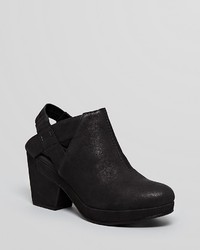 Eileen Fisher Grip Platform Clog Booties