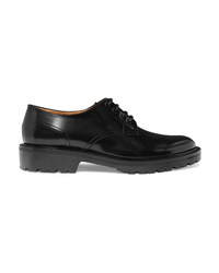Dries Van Noten Glossed Leather Brogues