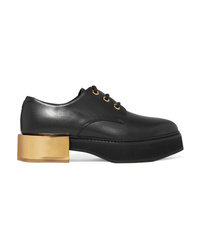 Alexander McQueen Leather Platform Brogues