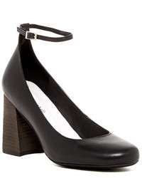 Jeffrey Campbell Carlina Ankle Strap Chunky Pump