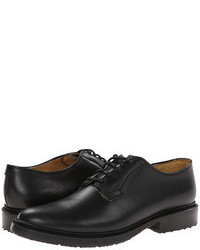 Black Chunky Oxford Shoes