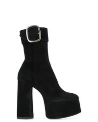 Saint Laurent High Heel Platform Boots