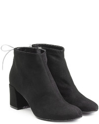 Mcq alexander mcqueen black suede ankle boots medium 781927