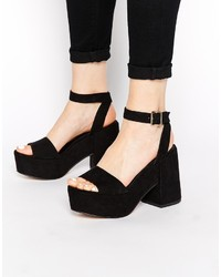 Asos Collection Hotspots Heeled Sandals