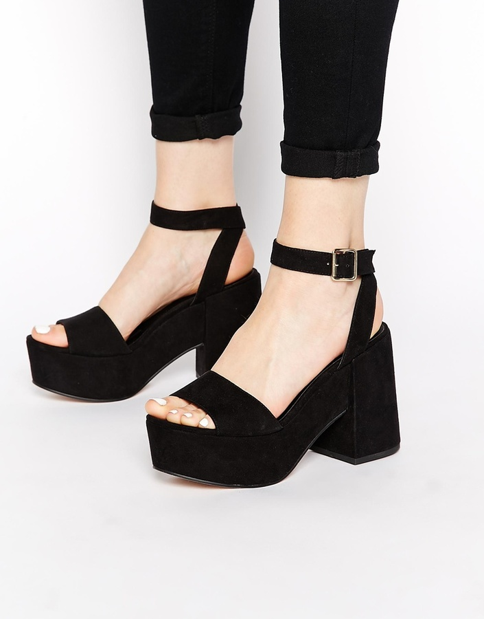 572db76ee715 ... Asos Collection Hotspots Heeled Sandals ...
