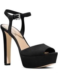 Michael Kors Trish Suede Platform Sandal