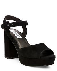 Steve Madden Trixie Suede Platform Sandals