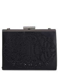 Alice frame clutch black medium 3772930
