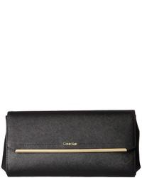 Calvin Klein Cindy Saffiano Clutch Clutch Handbags