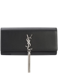 Saint Laurent Classic Kate Tassel Clutch