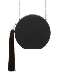 Natasha Couture Round Tassel Clutch