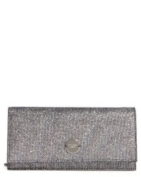 Jimmy Choo Fie Lame Glitter Clutch