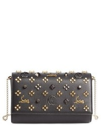 Paloma empire calfskin clutch black medium 4471808