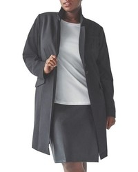 Universal Standard Adena Stretch Wool Blend Cover Coat