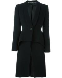 Alexander McQueen Tailored Peplum Coat