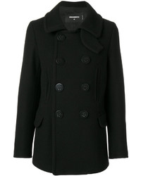Dsquared2 Anchor Detail Buttoned Coat