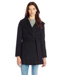 Trina Turk Beverlee Wool Wrap Coat