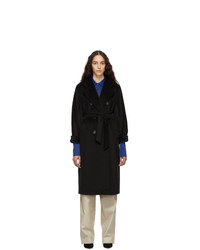 Max Mara Black Madame Coat