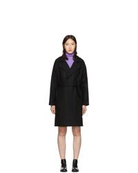 A.P.C. Black Wool Bakerstreet Coat