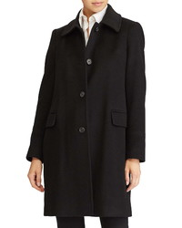 Lauren Ralph Lauren Cashmere Wool Walking Coat