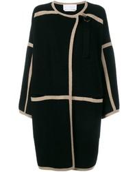 Chloé Contrast Trim Coat
