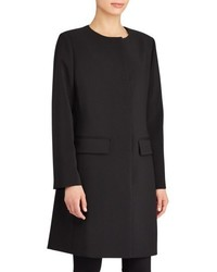 Lauren Ralph Lauren Collarless Crepe Topper