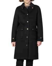 Sandro Dameen Wool Blend Coat