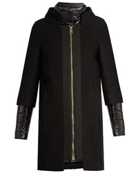 Herno Detachable Sleeved Funnel Neck Coat
