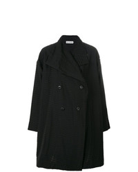 Issey Miyake Double Breasted Coat
