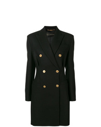 Versace Double Breasted Coat