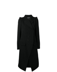 Ann Demeulemeester Double Breasted Fitted Coat