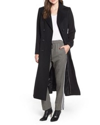 Kristen Blake Double Breasted Long Wool Coat