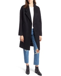 Kendall & Kylie Drop Shoulder Midi Coat
