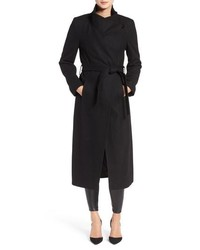 Kenneth Cole New York Fencer Melton Wool Maxi Coat