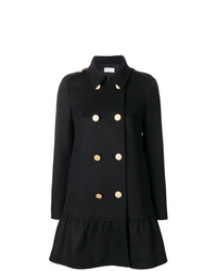 RED Valentino Flared Double Breasted Coat