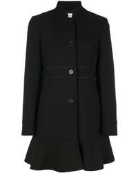 RED Valentino Frill Hem Coat