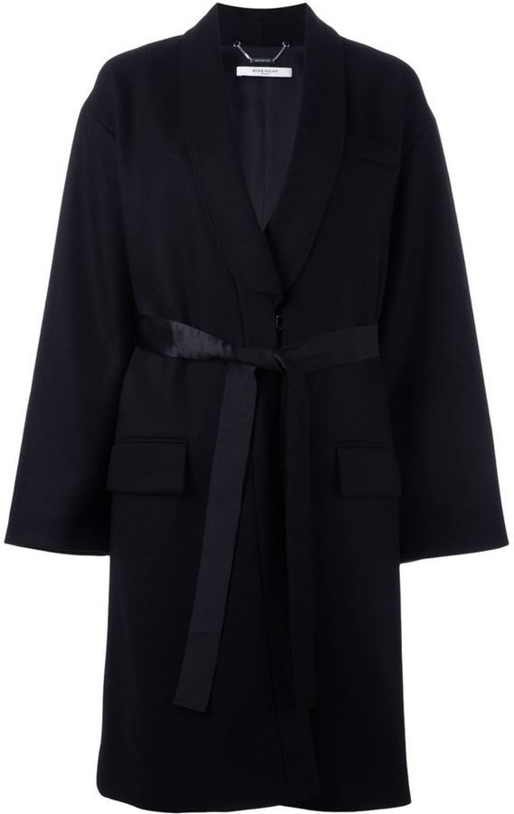 Givenchy Mid Length Belted Coat