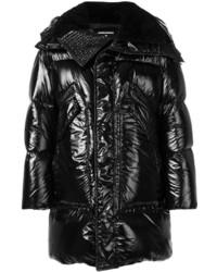 DSQUARED2 High Shine Padded Coat