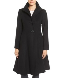 Isabella skirted wool blend coat medium 844809