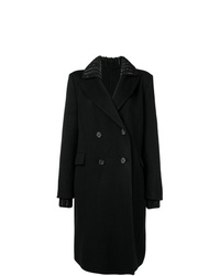 Ermanno Scervino Knit Collar Coat
