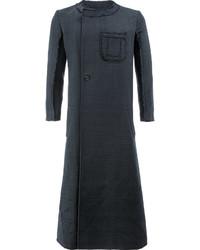 Yang Li Long Asymmetric Front Coat
