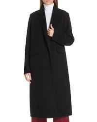 Vince Long Wool Alpaca Blend Coat